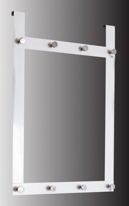 Garderobsdörrhängare med 8 krokar
