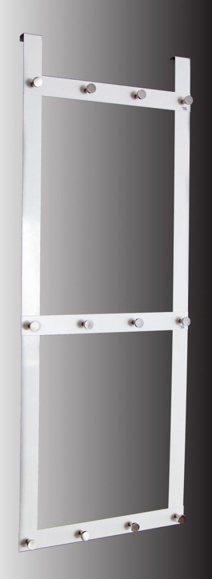 Garderobsdörrhängare med 12 krokar