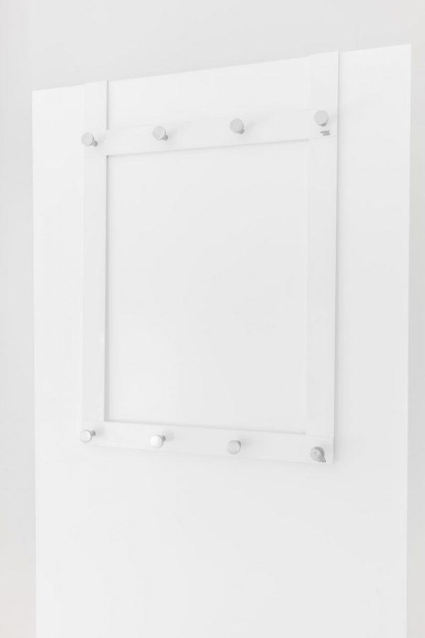 Hängare för garderobsdörr med 8 krokar